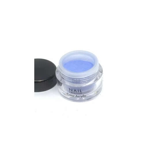 Coloured Acrylic Powder – Blue Ocean, 3.5g