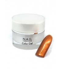 Colour Gel – Golden Dream, Dark Metallic Orange 5ml